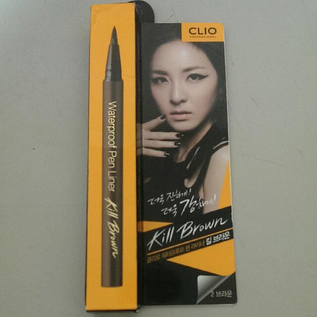 (售出)全新 CLIO眼線液筆 粽