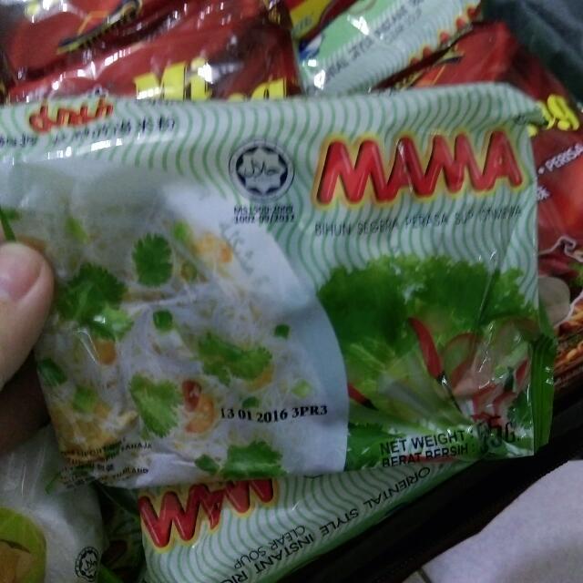 馬來西亞 MAMA沖泡米粉
