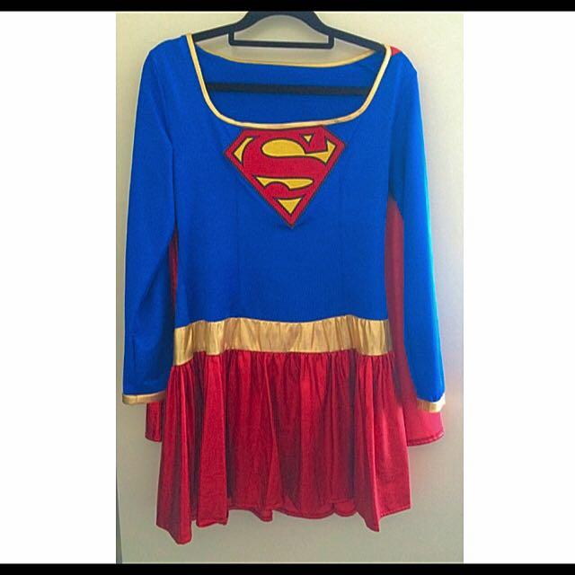 • Superwoman Dress Costume •