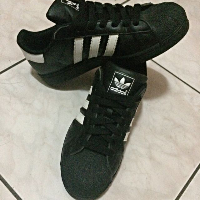 Adidas Originals SuperStar 經典 全黑