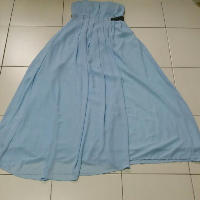 Baby Blue Gown