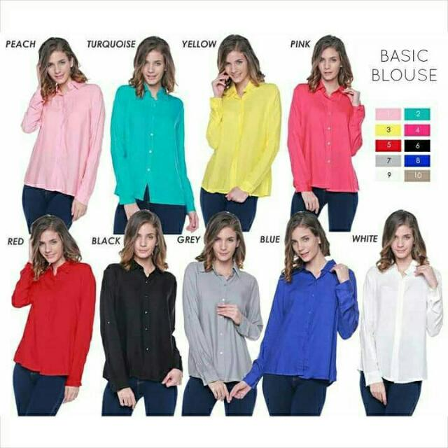 Belle Basic Blouse
