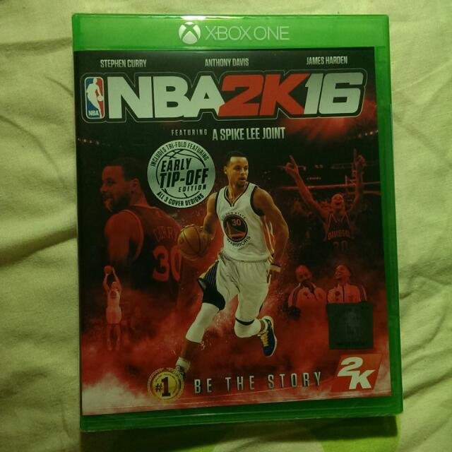 PENDING BNIP XBOX One NBA 2K16