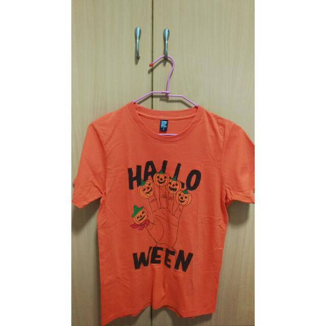 Design T-shirt Store Graniph萬聖節系列南瓜tshirt