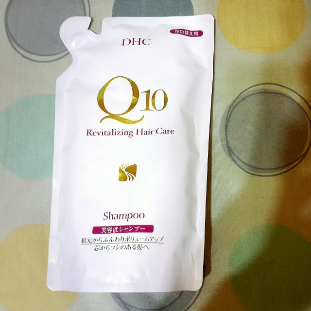 DHC Q10豐盈修護洗髮精補充包 400ml