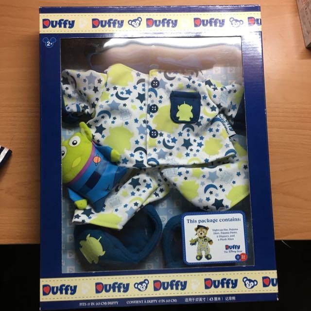 (現貨一件)香港迪士尼DUFFY三眼怪睡衣-含運
