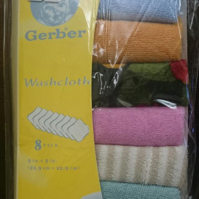 全新Gerber小方巾8入組