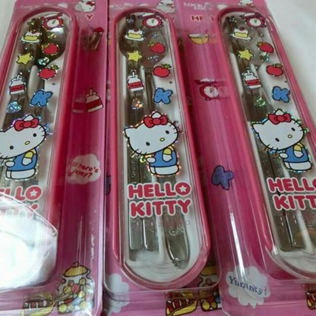 韓國Hello Kitty餐具組