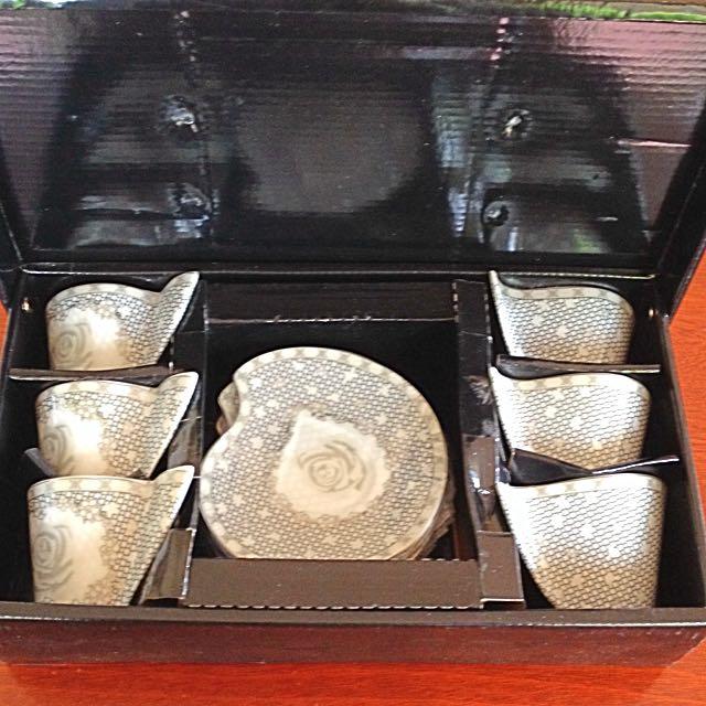 Milano 6pc Tea Set