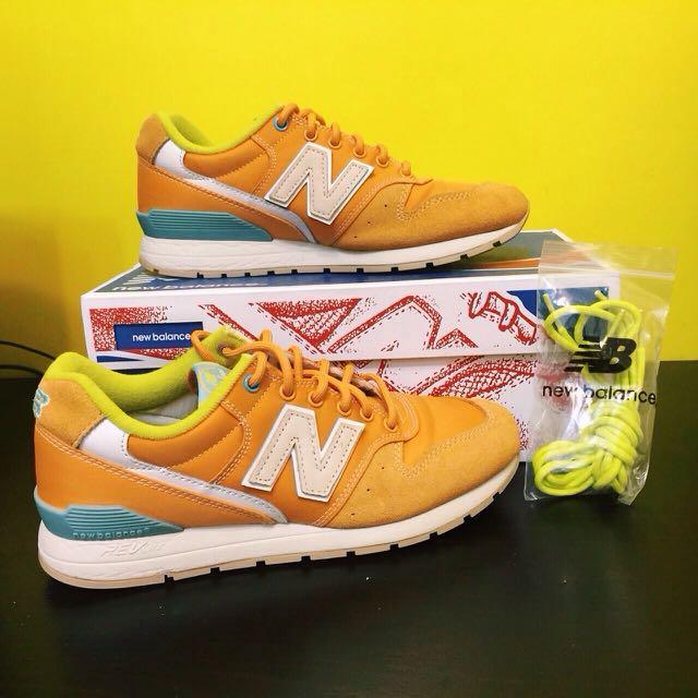 New Balance 996 橘鞋(GS)