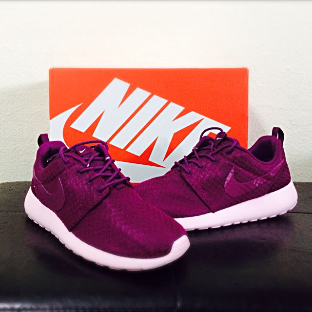 Roshe Run Mulberry/Prism Pink
