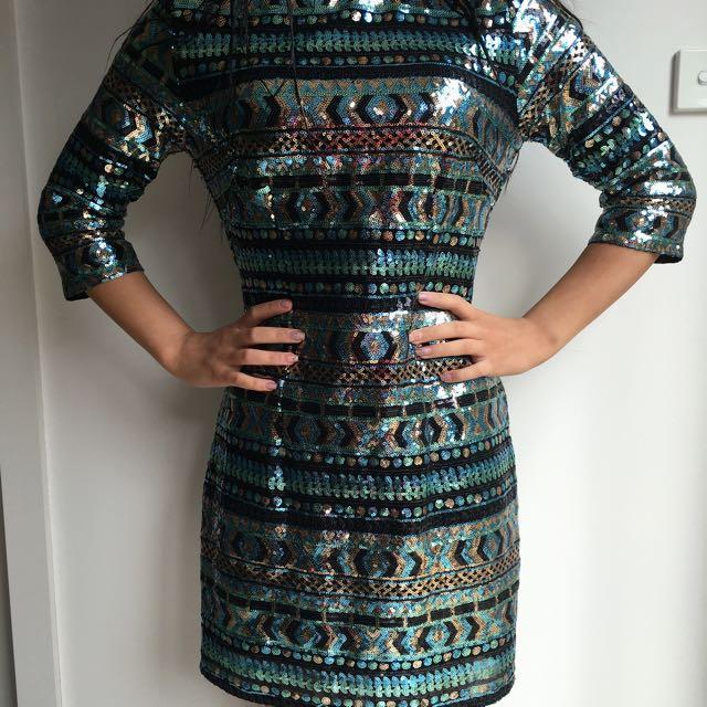 Sequin Dress 👸🏼🔱