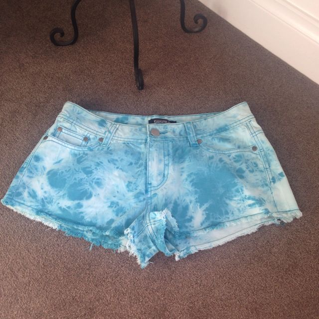 Tie Dye Blue Shorts