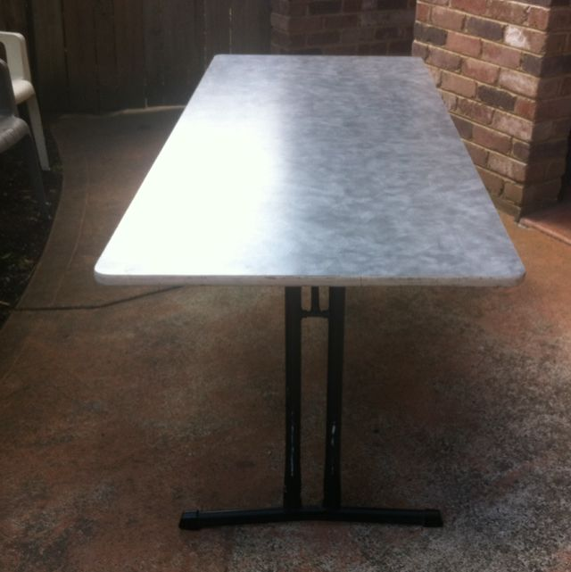 Trestle Table/ Fold Out