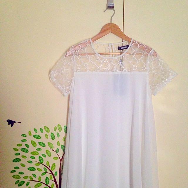 White Cute Summer Dress *new*