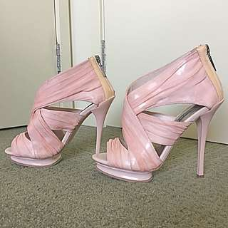 Wayne Cooper Pink Heels - Size 36