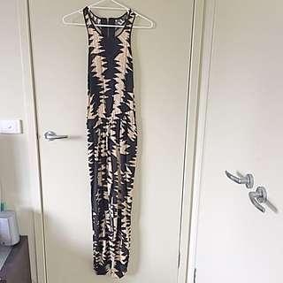 Bardot Full Length Playsuit - Size 8