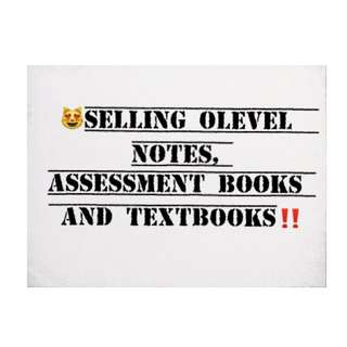 NOTES FOR OLEVEL STUDENTS