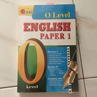 OLEVEL English Paper 1