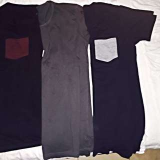"3 X ""as"" brand AS NEW Mens T-Shirts (size S)"
