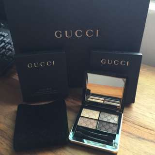 Gucci 眼影 香港帶回 有盒 不含提袋