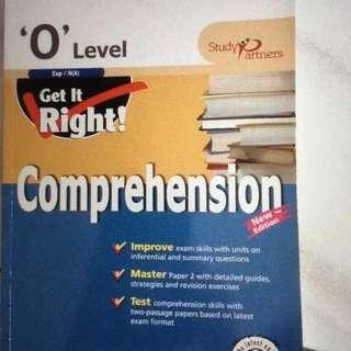 OLEVEL English Comprehension