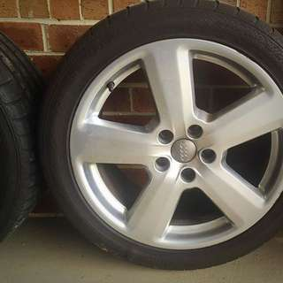 "Audi A6 18"" Wheels (4x)"