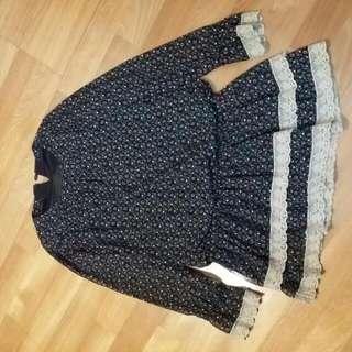 0918風長版雪紡衣