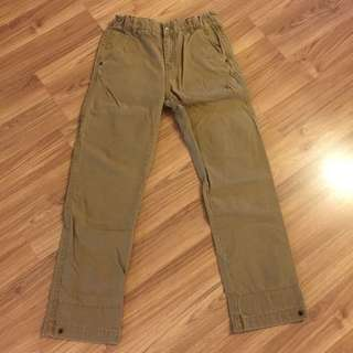 Zara Boy 二手卡其長褲(適合152cm)