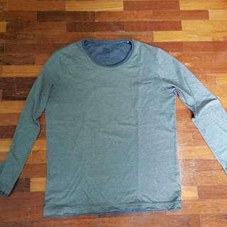 Olive Long Sleeve Pocket Shirt