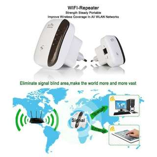Brand New 300Mbps Wi-Fi Repeater: Boost WiFi Signals and Effortlessly Stay Connected.