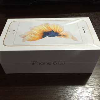 iPhone 6s 64 GB Gold (Brand New)