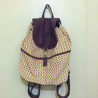 💋Backpack With Dotted Patterns