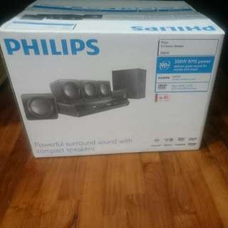 Brand New Unopened Philips Home Theatre System 5.1