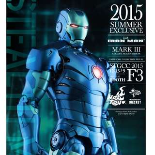 * LAST REDUCTION! * Iron Man Mark III STEALTH MODER VERSION 2015 Summer Exclusive