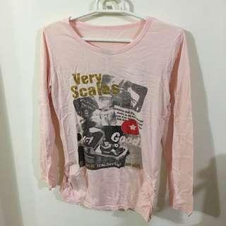 ✌️粉色純棉T-shirt✌️