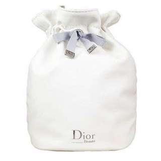 Dior 防水抽繩 化妝包 收納袋 束口袋
