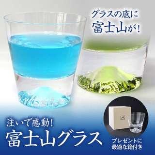 富士山玻璃杯 田島硝子 日本限量