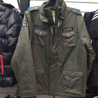 ✨欣欣運動用品✨ KAPPA 英國軍隊雙層鋪棉外套
