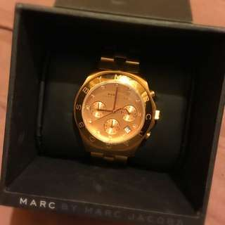 MARC BY MARC JACOBS 春漾光芒三眼計時腕錶