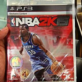 NBA 2K15 (PS3) For Sale!