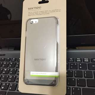 全新含運 I phone 6 黑 透明殼 硬殼