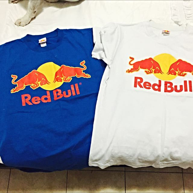 2 x Red Bull T-shirts (size L) Teenage Boys
