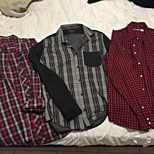 3 X Branded Men's/Teenage Boys Shirts