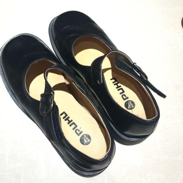黑色皮鞋(女用)