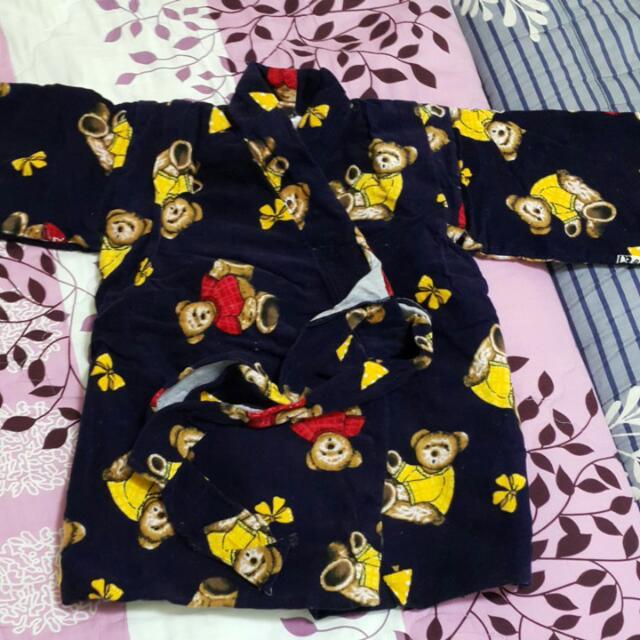 保留 - 嬰幼兒日式睡袍