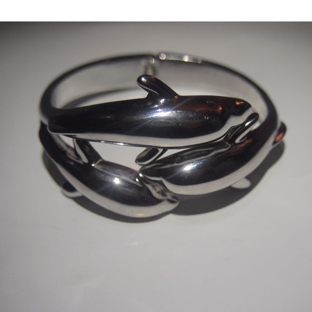 泰國進口<精品>銀海豚手臂飾品.鑰匙圈.背包飾品.手機小吊飾.隨身配件飾品