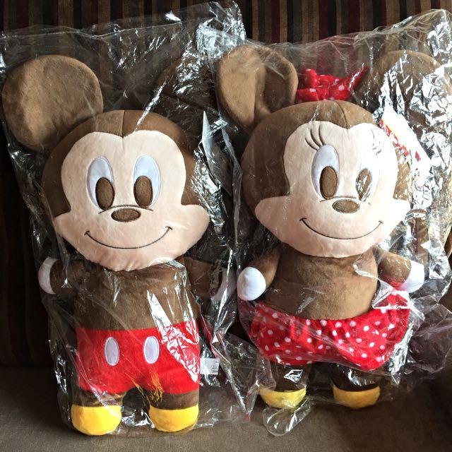 全新 正版授權迪士尼 50CM 長版玩偶 抱枕 娃娃 Q版 米妮