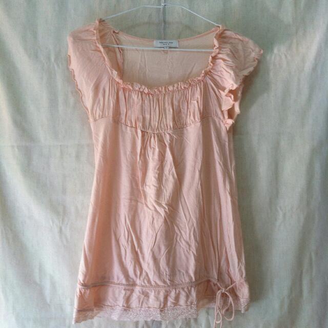 📍 代售 粉紅色 OL氣質上衣