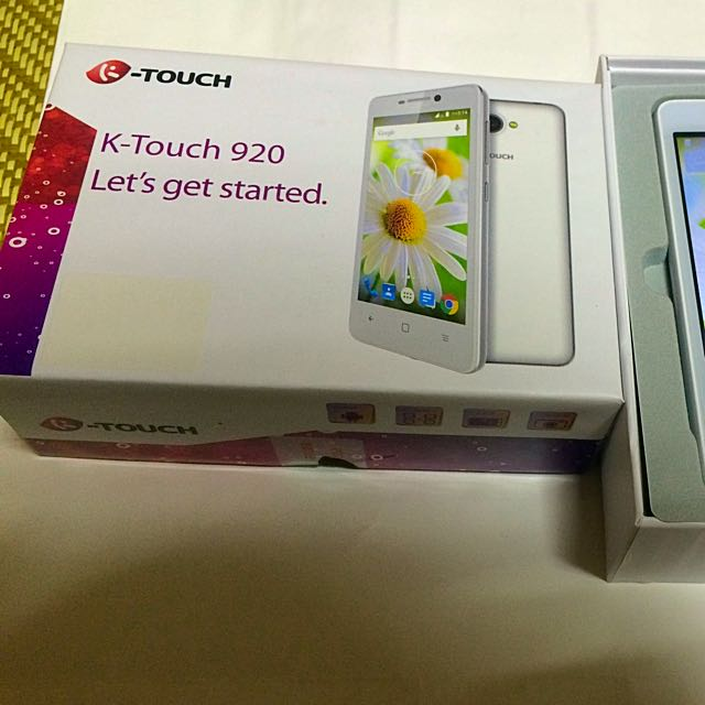 可議。天語 K-Touch 920 四核心智慧型手機